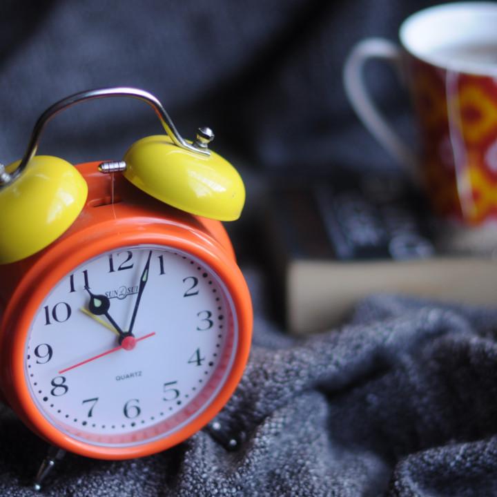 睡眠習慣に気を付ける